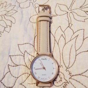 Nanette Lepore rose gold wrist watch